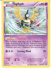 POKEMON BLACK AND WHITE PLASMA BLAST - SIGILYPH 41/101 HOLO