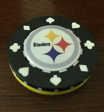 Steelers POKER Weight CHIP CARD GUARD WSOP, Texas Holdem, Poker Chips
