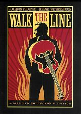 Walk the Line 2-Disc Collector's Edition DVD Set with 5 Postcards Free Shipping
