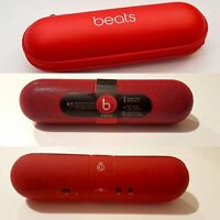 Dr Dre Pill Speaker, Dr Dre Beats Bluetooth Speaker RED With Case