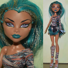 "Monster High 11.5"" 1st WAVE NEFERA DOLL De Nile Mummy Wrap Outfit PLAYED WITH"