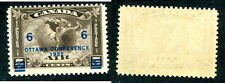 MNH Canada Airmail Stamp with Shifted Overprint #C4var (Lot #7441)