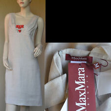 Max Mara New sz 36 - 2 Authentic Designer Cocktail Party Dress 100% Linen