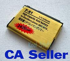 Gold High Capacity F-S1 FS1 battery 2430mAh for BB Torch 9800 9810