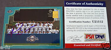 PRINCE FIELDER SIGNED 2001 Topps #767 Brewers Team Card Auto PSA/DNA Autograph
