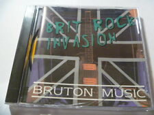 BRIT ROCK INVASION BRUTON RARE LIBRARY SOUNDS CD