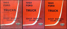 1965 Ford Pickup and Truck Original Shop Manual SET 65 F100 F250 F350 F500-F1100