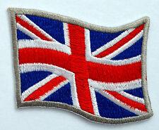 Union Jack Flag Iron On Patch uk alternative retro jacket denim emo patches punk