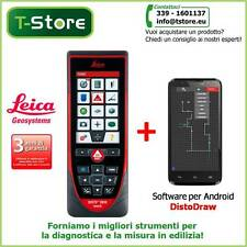 Misuratore Laser Leica Disto D810 +Software DistoDraw per Android-FATTURABILE--