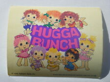 Rare 1985 PreProduction Licensor Approved Signed Hugga Bunch Lunch Box Artwork