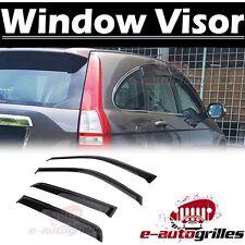 4Doors Sun/Rain Guard Wind Deflector Vent Shade Window Visor for 07-11 Honda CRV