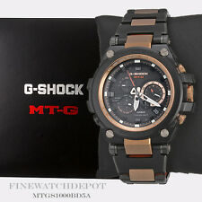 Authentic Casio G-Shock Men's Steel Metal Solar MTG Series Watch MTGS1000BD-5A