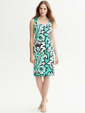 NWT Banana Republic Milly Collection Eden Rock Printed Dress, Size 16 #7f
