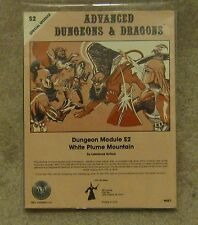 dungeons & dragons White Plume Mountain  s2  module silver anniversary l n