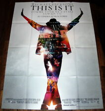 THiS iS iT Michael Jackson Tour King of Pop Music Concert LARGE French POSTER