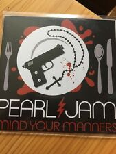Pearl Jam - Mind Your Manners - Rare 1 Track Cd Promo