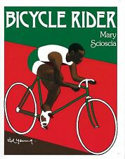 Scioscia, Mary / Illustrations by Ed Young. Bicycle Rider. hardcover 1983 as new