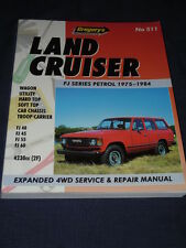 Gregory's 4WD Service & Repair Manual LAND CRUISER FJ SERIES 1975-1984 Petrol