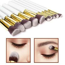 10pcs Kabuki Style Make Up Brush Set Face Powder Foundation Blusher - Style 4