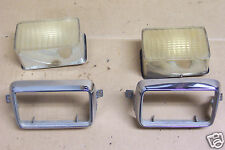 1975 1976 & Other Ford Mustang II Exterior Grille Sport Lamp Lenses Bezels