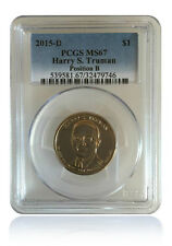 Pcgs Ms67 2015-D Harry S Truman Presidential Dollar Position B
