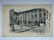 PRATO Piazza del Comune vecchia cartolina