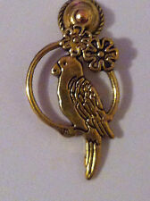 DOLLS HOUSE MINIATURE BIRD DOOR KNOCKER