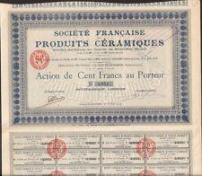 Société Française de PRODUITS CÉRAMIQUES (SAVIGNY EN REVERMONT 71) (T)