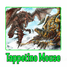 Monster Hunter Rathalos Zinogre Diablo Tirex Tappetino Mouse Pad Pc Videogioco 3