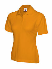 Uneek Ladies Polo Shirt Sizes 8 - 22 Womens Casual Tee Classic Fit (UC106)