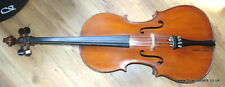 Vintage 3/4 Cello CIRCA 1899  Quality Looking  Instrument Old Antique