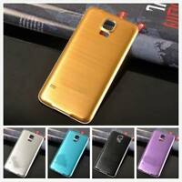 Aluminum Metal Battery Back door Cover Housing case For Samsung Galaxy S5 I9600