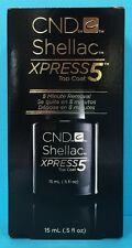 CND SHELLAC XPRESS 5 TOP COAT ~ 5 Minute Express Removal ~ .5 oz / 15 mL NEW