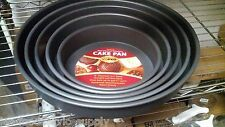 "8""x 2"" Round Deluxe Cake/Deep Dish Pizza Pan- Anodized Aluminum, Non-Stick"