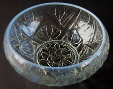 1930's Jobling Art Deco Opalescent / Opaline Tudor Rose Bowl