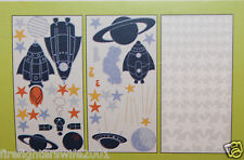 Circo Blast Off Space Rockets Wall Stickers Decals new