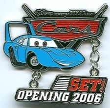 Disney Pin: WDW - Disney-Pixar's Cars Countdown - Set! - The King (LE 1000)