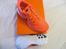 WOMEN'S NIKE FREE 5.0 RUNNING SHOES SZ 8 HOT LAVA/LAVA GLOW-CRIMSON  RET$100 NIB