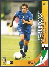 PANINI UEFA EURO 2008 TRADING CARD- #157-ITALIA-ITALY-ALESSANDRO DEL PIERO
