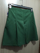 BNWT Girls Bottle Green Midford Brand Sz 20 School Uniform Skort Style Culottes