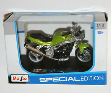 Maisto - TRIUMPH SPEED TRIPLE (Green) Motorbike Model Scale 1:18