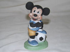Vintage Disney Mickey Mouse with Soccer Ball - Sports Figurine UCGC Taiwan