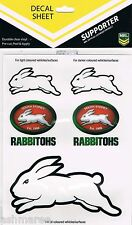 NRL South Sydney Rabbitohs 5 UV Outdoor Car Tattoo Sticker / iTag / Car Decal