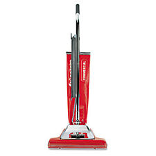 Quick Kleen Wide Track Vacuum with Vibra-Groomer, 16 Path, 18.5lb, Red