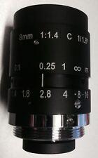 1/1.8 Mega Pixel C Mount HD Lens 8mm for Envis M703E Night Vision Pocket Scope