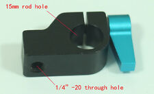 Metal Clamp Block Holder for 15mm Rail Rod Support System DSLR Rig Follow Focus