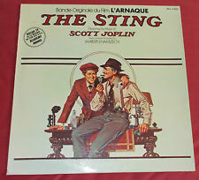 L'ARNAQUE  LP BOF OST SCOTT JOPLIN  MARVIN HAMLISCH