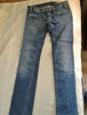 """AUTHENTIC Women's Diesel Made in Italy Keate Jeans SIZE W 29 L 32"""" Stretch GUC"""