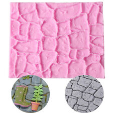 New Brick Wall Silicone Fondant Candy Mold Cake Decorating Baking Mould Tools
