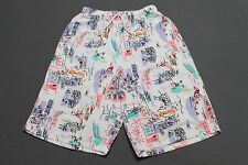 S/XS * vtg 80s/90s HANG TEN all over print shorts * surf